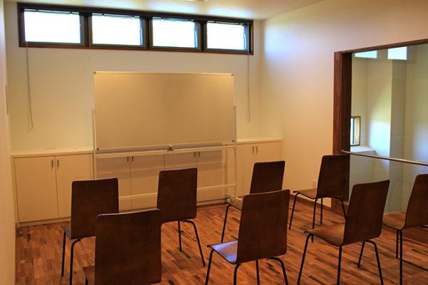 ワイナリー内の教室